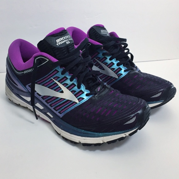 a137007f08c Brooks Shoes - • BROOKS TRANSCEND Running Shoes Purple SZ 10.5